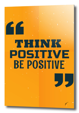 Quote Poster - 31 - Positive