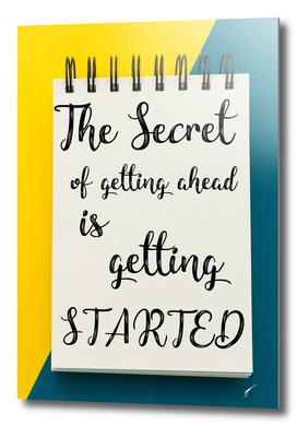 Quote Poster - 35 - Secret