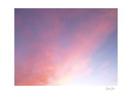 Cloud Wisp at Sunset