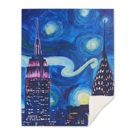 Atarry night in new york van gogh