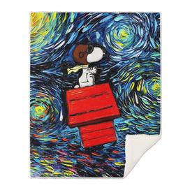 Starry Night Snoopy When Van Gogh meets Pop Culture
