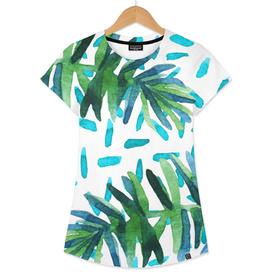 Ferns + Turquoise #curioos #buyart