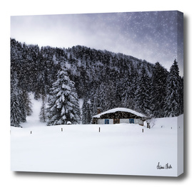 Bavarian Winter's Tale - Lonely Hut