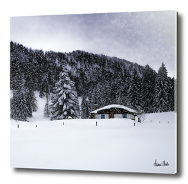 Bavarian Winter's Tale - Lonely Hut