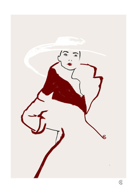 chic woman