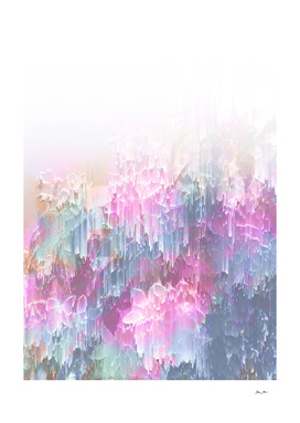 Magical Nature - Glitch Pink and Lagoon Blue