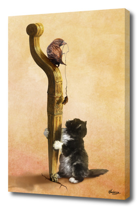 The Cat, the Bird and the Mouse