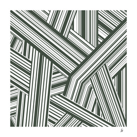 Abstract Crossing Stripes Pattern