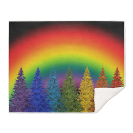 christmas colorful rainbow colors