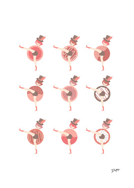 Donut Stop Dancing Can Can