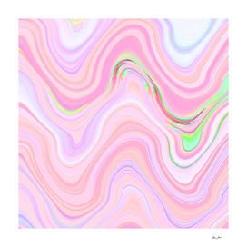 Pastel Pink & Violet Lava Marble