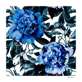 Indigo blue flowers