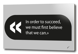 Quote Poster - 60 - Believe