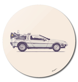 Famous Car #2 - Back to the Future's Delorean