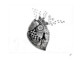 Bubbling Heart