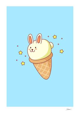 Bunny-lla Ice Cream
