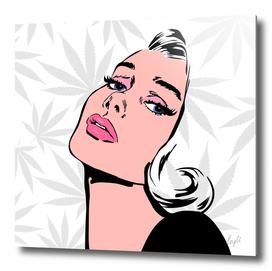 High Pop Art Lady