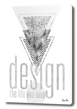 GRAPHIC ART Design the life you love | silver