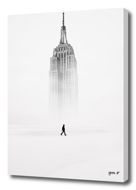 Alone with Empire State Building by GEN Z