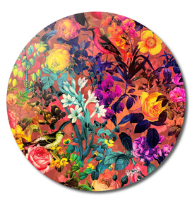 Floral and Birds Pattern II