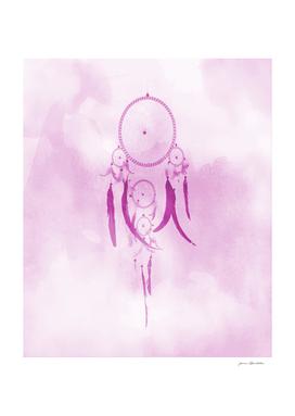 Dreamcatcher In Pink