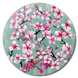 Watercolor Blossoms