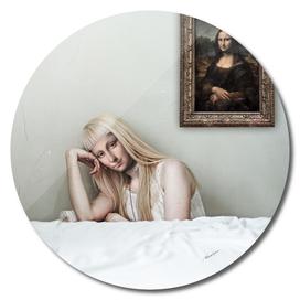 When Art Meets Real Life (Mona Lisa)