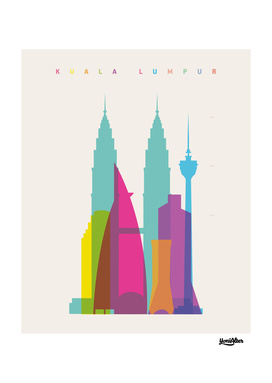 Shapes of Kuala Lumpur