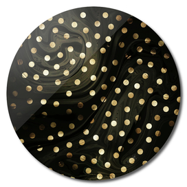 Golden dots