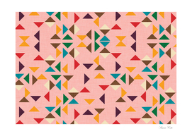 Kilim triangle pattern