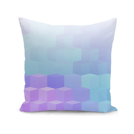 Pastel Cube Pattern Ombre 2.