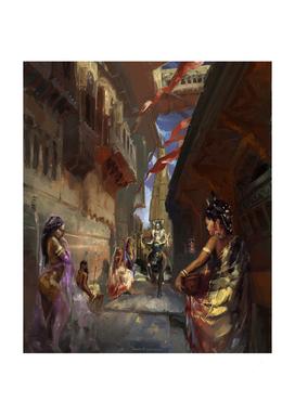 Shiva And Nandi