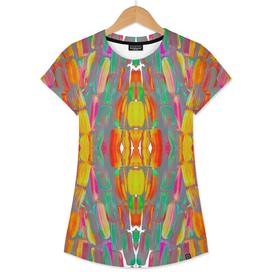 Dream Shade Colorful Sugarcane Pattern