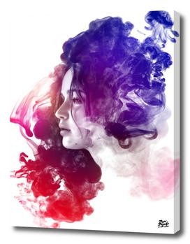 Jennifer Lawrence Watercolor Portrait