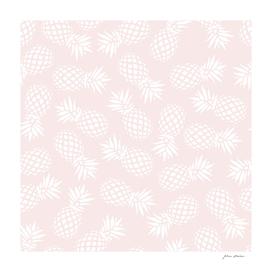Pineapple pattern on pink