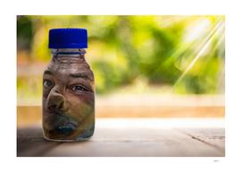 Bottled Face