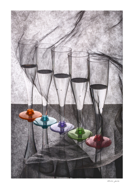 Still Life with Glasses