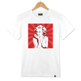 Marilyn Monroe | Red | Pop Art