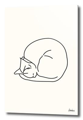 Sleeping Cat #3