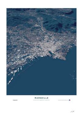 Marseille - City Map