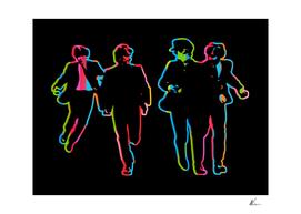 Beatles | Dark | Pop Art