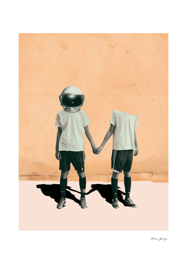 the astronaut and his boyfriend