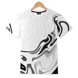 Elegant Liquid Marble Waves Design