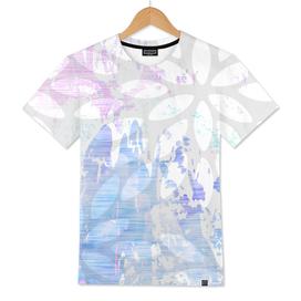 Abstract Splash Flowers Design