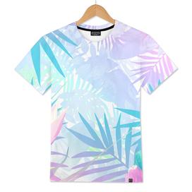 Pastel Rainbow Tropical Paradise Design