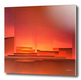 Sunset on the block
