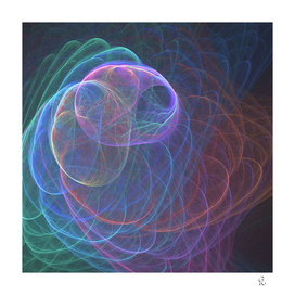 Wormhole Arches in Rainbow Fractal