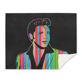 Elvis Presley   Dark   Pop Art