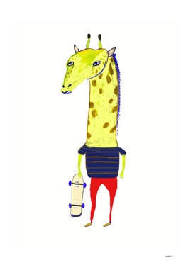 Giraffe Dude