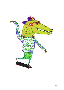 Crocdile Skater 2